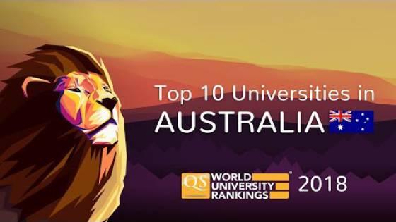 The Top 10 Universities in Australia 2018