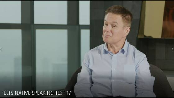 IELTS NATIVE SPEAKING TEST 17