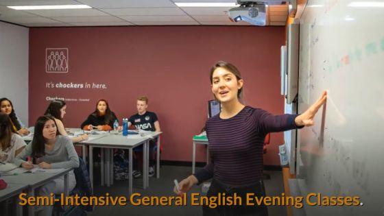 EC Semi Intensive General English Evening Classes