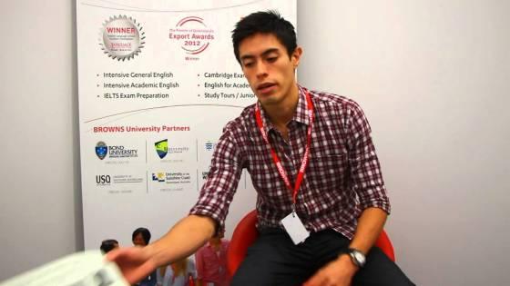 Student Testimonial - John Velasquez from Colombia [English version] IELTS Exam
