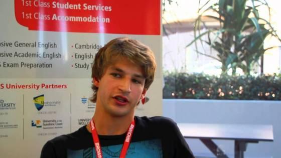 Student Testimonial - Denis Cremer from Switzerland [English version]