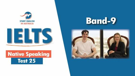 IELTS NATIVE SPEAKING TEST